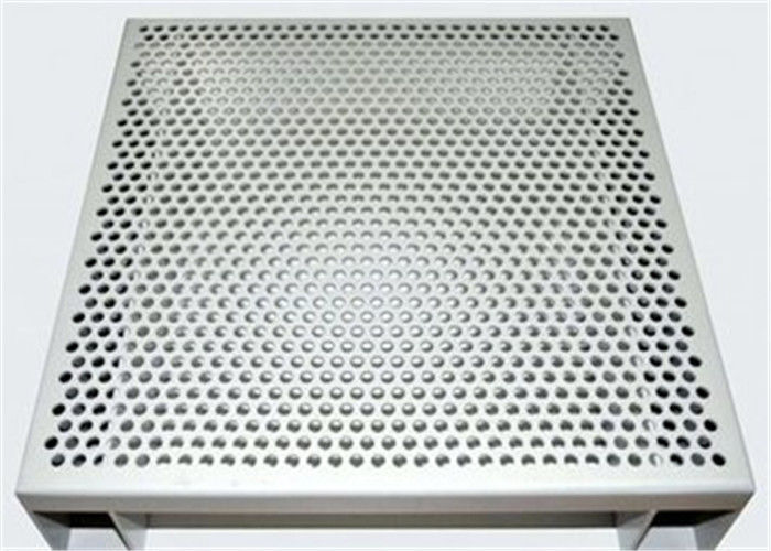 Hexagonal 3003 H14 Perforated Aluminum Sheet For Acoustic Wall Panels