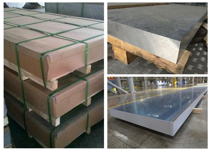 Durable Aluminium Alloy 5154 Sheet , 5154A AlMg3.5 Marine Grade Aluminium Sheet