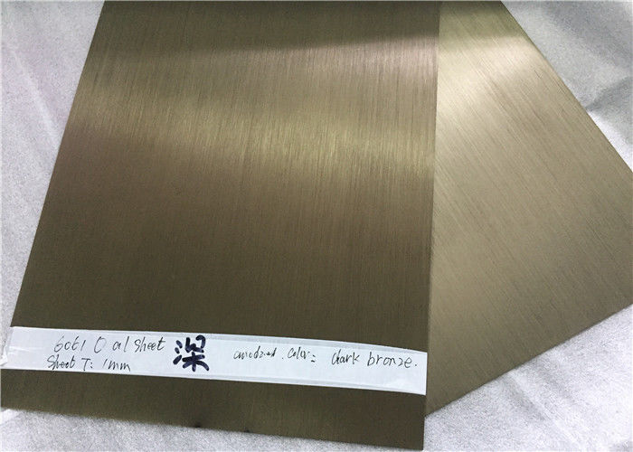 Curtain Wall Anodized Aluminum Plate 8011 Customized Coating Thickness